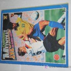 Coleccionismo deportivo: ALBUM CAMPEONATO MUNDIAL USA 94, EDICIONES ESTADIO. Lote 23444800