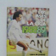 Coleccionismo deportivo: LOS ASES DE LA LIGA TEMPORADA 1988-89. Lote 19439146