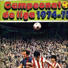 Coleccionismo deportivo: ALBUM FUTBOL CAMPEONATO DE LIGA 1974-75 , 74 75 DISGRA FHER DISGRA , ORIGINAL ,CON 347 CROMOS .. Lote 26348088