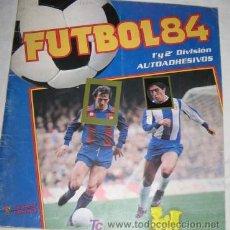 Coleccionismo deportivo: ÁLBUM FUTBOL 84 DE PANINI. Lote 26428981
