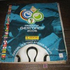 Coleccionismo deportivo: FIFA WORLD CUP GERMANY 2006 INCOMPLETO FALTAN 81 DE 596. Lote 14434917