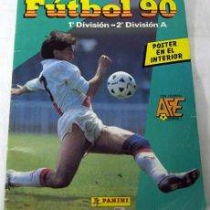 Coleccionismo deportivo: ALBUM FÚTBOL 90 LIGA 1ª DIVISIÓN Y 2ª DIVISIÓN A DE PANINI FALTAN 241 CROMOS. Lote 7281731