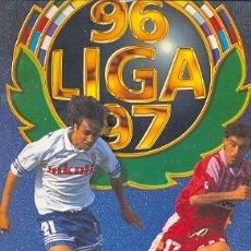 Coleccionismo deportivo: CRO21-35. ALBUM CROMOS FUTBOL. EDICIONES ESTE LIGA 96-97. Lote 7454525