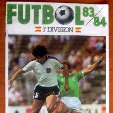 Coleccionismo deportivo: FUTBOL 83-84 - CROMOS CANO - SOLO LAS PORTADAS. Lote 8455065