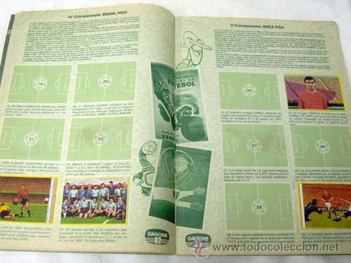 Coleccionismo deportivo: Album incompleto Fútbol en Acción Danone 82 Mundial Mundiales fútbol Faltan 48 cromos de 96 - Foto 3 - 9704555