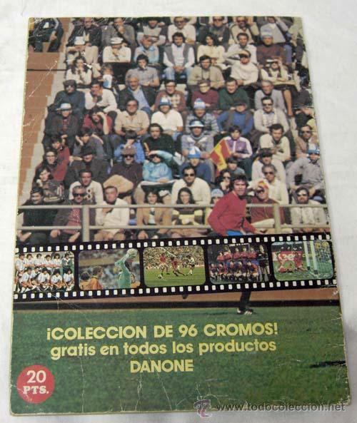 Coleccionismo deportivo: Album incompleto Fútbol en Acción Danone 82 Mundial Mundiales fútbol Faltan 48 cromos de 96 - Foto 4 - 9704555