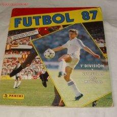 Coleccionismo deportivo: ALBUM FÚTBOL 87,PANINI. Lote 25980679
