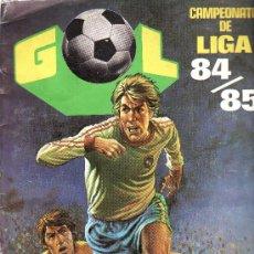 Coleccionismo deportivo: CAMPEONATO DE LIGA 84/85 -- EDITORIAL MAGA-- CONTIENE 105 CROMOS. Lote 10497075