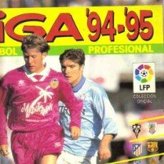 Coleccionismo deportivo: ALBUM DE CROMOS - LIGA 94/95 DE FUTBOL PROFESIONAL - INCOMPLETO. Lote 10825957