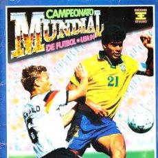 Coleccionismo deportivo: ALBUM CAMPEONATO MUNDIAL DE FUTBOL USA 94 EDIC. ESTADIO FALTAN 94 CROMOS VER LISTA. Lote 12065209