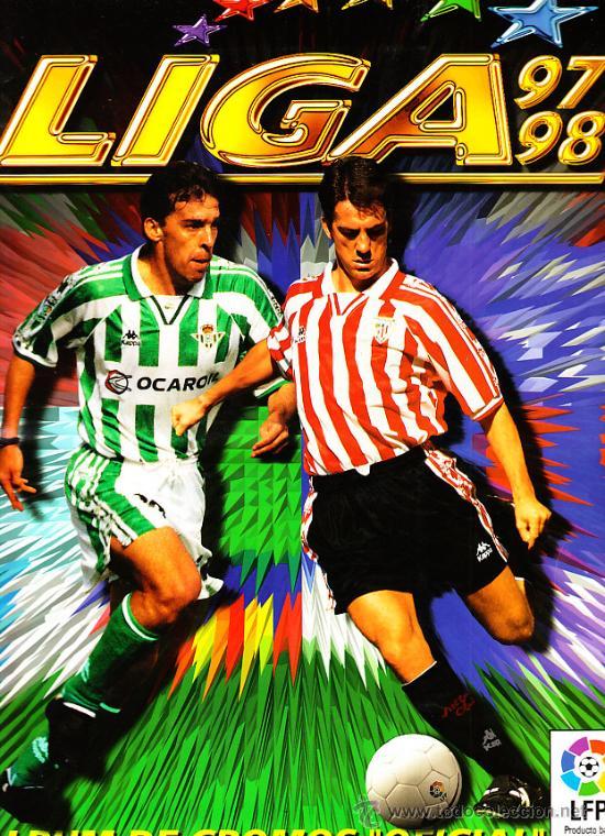 ALBUM DE FUTBOL LIGA 97-98 ESTE FALTAN 5 CROMOS VER LISTA APARTE (Coleccionismo Deportivo - Álbumes y Cromos de Deportes - Álbumes de Fútbol Incompletos)