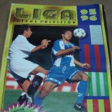 Coleccionismo deportivo: ALBUM CROMOS FUTBOL - LIGA 1ª DIVISION ESTE 95-96 ( CON 190 CROMOS) 1995-1996. Lote 26673780