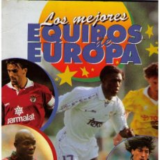 Colecionismo desportivo: LOS MEJORES EQUIPOS DE EUROPA. PANINI. TIENE 225 CROMOS. Lote 22200558