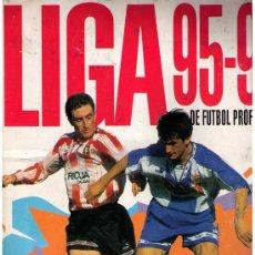 Coleccionismo deportivo: LIGA 95-96 DE FUTBOL PROFESIONAL.PANINI. FALTAN 3 CROMOS Y LA MAYORIA DE ÚLTIMOS FICHAJES. Lote 22763868