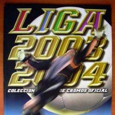 Coleccionismo deportivo: ALBUM LIGA 2003-2004, 03-04 - EDICIONES ESTE - NUEVO Y VACIO. Lote 152166884