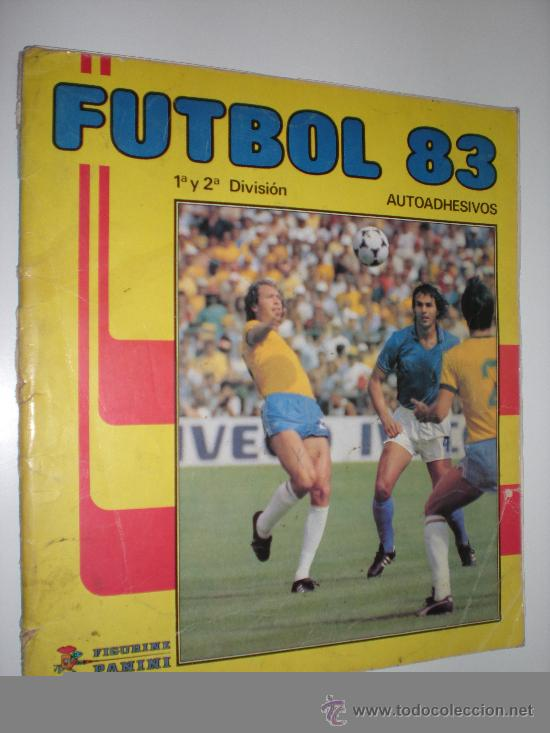 ÁLBUM DE CROMOS 1ª Y 2ª DIVISIÓN. FÚTBOL 83. PANINI (Coleccionismo Deportivo - Álbumes y Cromos de Deportes - Álbumes de Fútbol Incompletos)