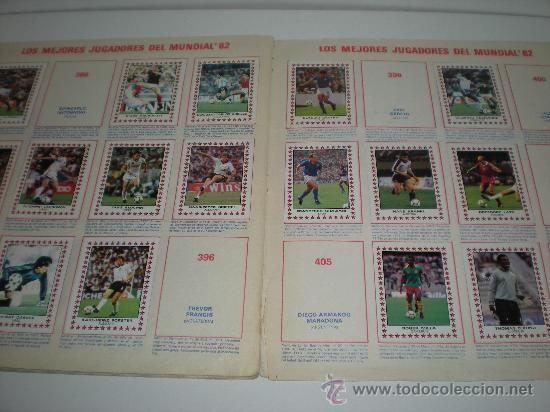 Coleccionismo deportivo: ÁLBUM DE CROMOS 1ª Y 2ª DIVISIÓN. FÚTBOL 83. PANINI - Foto 2 - 26273361