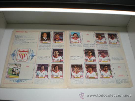 Coleccionismo deportivo: ÁLBUM DE CROMOS 1ª Y 2ª DIVISIÓN. FÚTBOL 83. PANINI - Foto 3 - 26273361