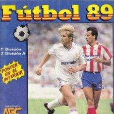 Coleccionismo deportivo: FUTBOL 89 - ALBUM PANINI - INCOMPLETO. Lote 19519730