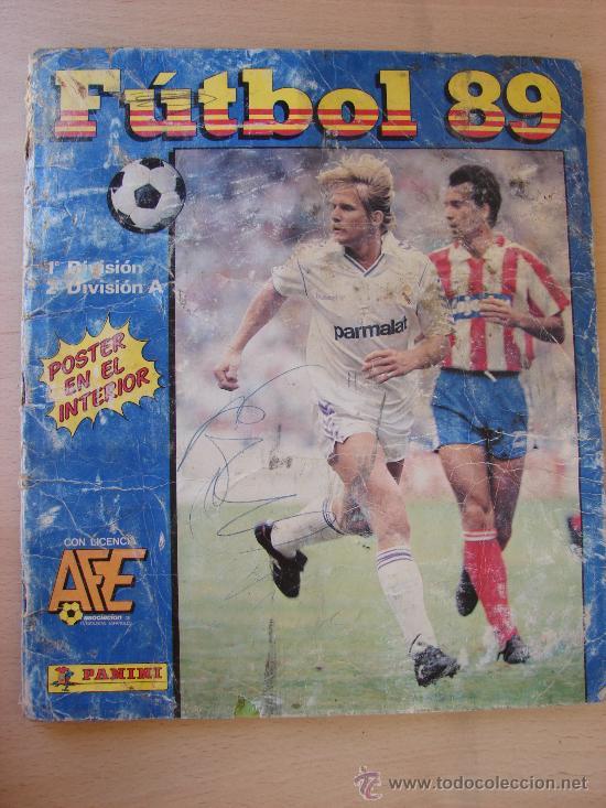 ALBUM DE CROMOS. FUTBOL 89. PANINI. INCOMPLETO (Coleccionismo Deportivo - Álbumes y Cromos de Deportes - Álbumes de Fútbol Incompletos)