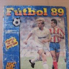 Coleccionismo deportivo: ALBUM DE CROMOS. FUTBOL 89. PANINI. INCOMPLETO. Lote 26993384