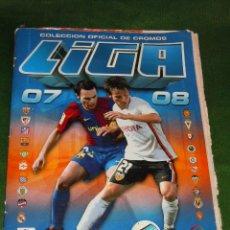 Coleccionismo deportivo: ALBUM CROMOS FUTBOL LIGA 2007-08 ESTE INCOMPLETO FALTAN 26 CROMOS. Lote 19747605
