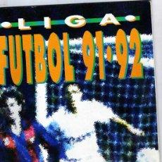 Coleccionismo deportivo: ALBUM LIGA FUTBOL 91-02 BIMBO. INCOMPLETO. CONTIENEN 88 CORMOS, DE LOS 240 QUE TIENE LA COLECCIÓN. Lote 19922336
