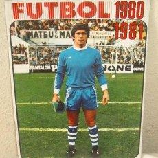Coleccionismo deportivo: ALBUM DE CROMOS FÚTBOL,DE LA LIGA 80-81,DISGRA,VACÍO,A ESTRENAR. Lote 47888375
