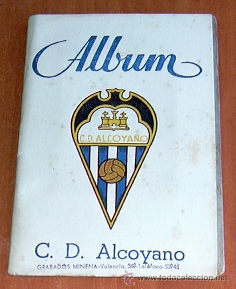 ALCOYANO - GRAFICAS SIERRA 1946-1947, 46-47 - VER FOTOS Y EXPLICACIONES INTERIORES (Coleccionismo Deportivo - Álbumes y Cromos de Deportes - Álbumes de Fútbol Incompletos)