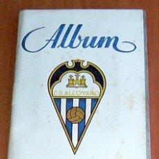 Coleccionismo deportivo: ALCOYANO - GRAFICAS SIERRA 1946-1947, 46-47 - VER FOTOS Y EXPLICACIONES INTERIORES. Lote 24605190