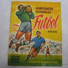 ALBUM CAMPEONATOS NACIONALES DE FUTBOL - RUIZ ROMERO 1958