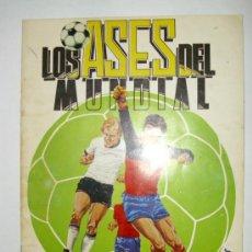 Coleccionismo deportivo: ALBUM LOS ASES DEL MUNDIAL ESPAÑA 82 - EDITORIAL VENLICO. Lote 23338428