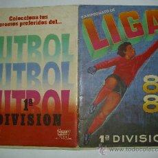 PORTADA ALBUM CROMOS CANO 84-85
