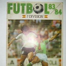 Coleccionismo deportivo: ALBUM VACIO FUTBOL 84 CROMOS CANO. Lote 23839685