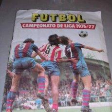 Coleccionismo deportivo: FUTBOL CAMPEONATO DE LIGA 1976/77,ALBUM ESTE COMPLETO TODOS LOS EQUIPOS,,ULTIMOS FICHAJES,. Lote 27042136