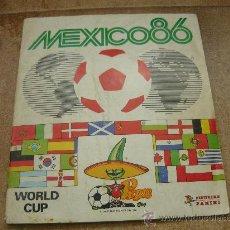 Coleccionismo deportivo: ALBUM DE CROMOS FÚTBOL MEXICO 86 1986 PANINI COMPLETO B.E.. Lote 26363225
