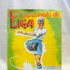 Coleccionismo deportivo: ALBUM DE CROMOS DE FUTBOL, CAMPEONATO DE LIGA, 1961 - 1962, 61 - 62, DISGRA, FHER, TIENE 104 CROMOS. Lote 24742073