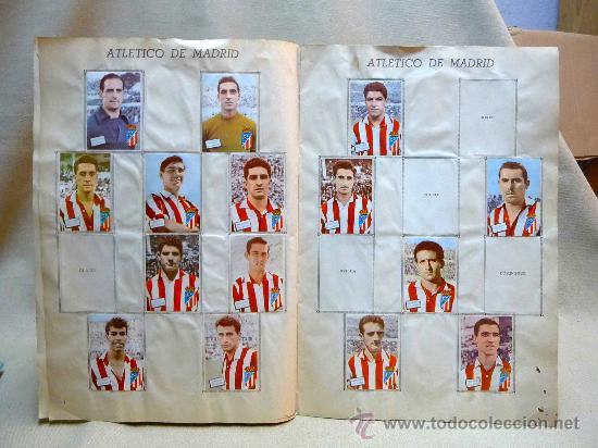 Coleccionismo deportivo: ALBUM DE CROMOS DE FUTBOL, CAMPEONATO DE LIGA, 1961 - 1962, 61 - 62, DISGRA, FHER, TIENE 104 CROMOS - Foto 4 - 24742073