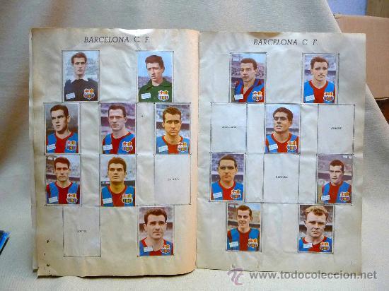 Coleccionismo deportivo: ALBUM DE CROMOS DE FUTBOL, CAMPEONATO DE LIGA, 1961 - 1962, 61 - 62, DISGRA, FHER, TIENE 104 CROMOS - Foto 5 - 24742073