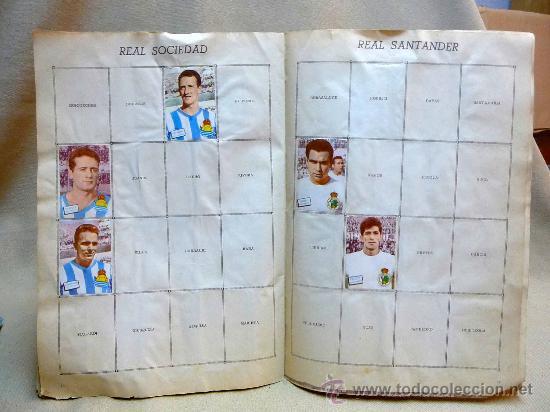 Coleccionismo deportivo: ALBUM DE CROMOS DE FUTBOL, CAMPEONATO DE LIGA, 1961 - 1962, 61 - 62, DISGRA, FHER, TIENE 104 CROMOS - Foto 10 - 24742073