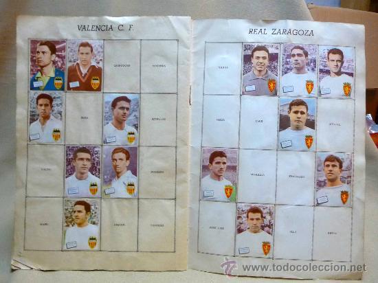 Coleccionismo deportivo: ALBUM DE CROMOS DE FUTBOL, CAMPEONATO DE LIGA, 1961 - 1962, 61 - 62, DISGRA, FHER, TIENE 104 CROMOS - Foto 12 - 24742073