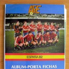 Coleccionismo deportivo: ALBUM PORTA FICHAS SELECCIÓN NACIONAL ESPAÑOLA DE FÚTBOL - EDITORIAL PLADEMER 1982. Lote 25358103