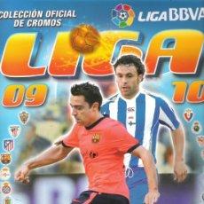 Coleccionismo deportivo: ALBUM DE LA LIGA 09/10 CON 478 CROMOS. Lote 25508700