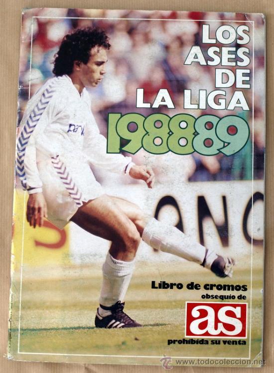 LOS ASES DE LA LIGA 88/89 - ALBUM INCOMPLETO - FALTA 15 CROMOS - (Coleccionismo Deportivo - Álbumes y Cromos de Deportes - Álbumes de Fútbol Incompletos)