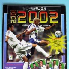 Coleccionismo deportivo: SUPERLIGA 2001/2002 - EDITORIAL PANINI - ÁLBUM NUEVO Y VACÍO. Lote 189258350