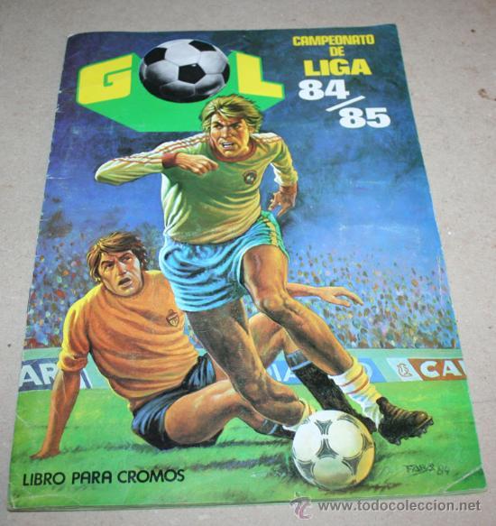 ALBUM CROMOS FUTBOL GOL CAMPEONATO DE LIGA 84/85 EDITORIAL MAGA 84-85 1984 (Coleccionismo Deportivo - Álbumes y Cromos de Deportes - Álbumes de Fútbol Incompletos)
