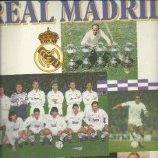 Coleccionismo deportivo: .ANTIGUO ALBUM DEL REAL MADRID CON 244 CROMOS - PANINI - . Lote 27821806