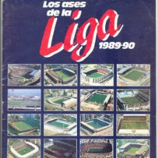 Coleccionismo deportivo: AS LIGA 89-90 INCOMPLETO. Lote 28348546