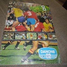 ALBUM FUTBOL EN ACCION DANONE 82 FALTAN 8 CROMOS