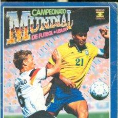Coleccionismo deportivo: CAMPEONATO MUNDIAL DE FUTBOL. USA 94. EDICIONES ESTADIO. CONTIENE 35 CROMOS DE 445. .. Lote 28358885